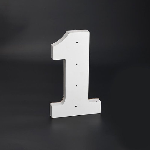 Light Up Numbers-Party Decorations-Large
