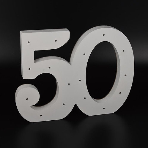 Light Up Numbers-50th Anniversary