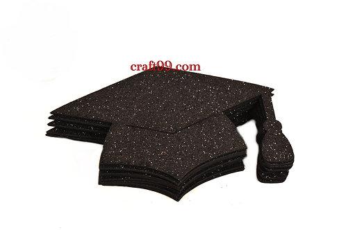 Black Graduation Centerpieces Large Graduation Hats Foam Cutouts