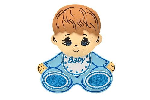 Blue Baby Shower Centerpieces Baby Foam Figure