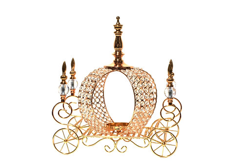 Crystal Pumpkin Carriage Centerpieces