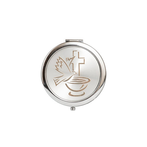 Mirror Compact Gifts-Baptism Favors-Holy Cup Design