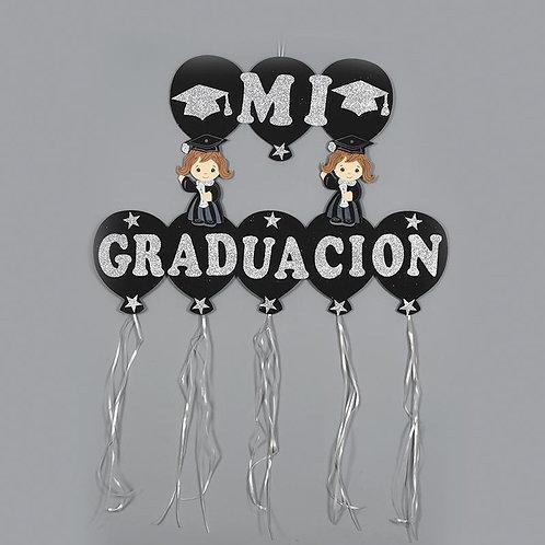 Graduation Banner-Foam Congrats Banner-Silver