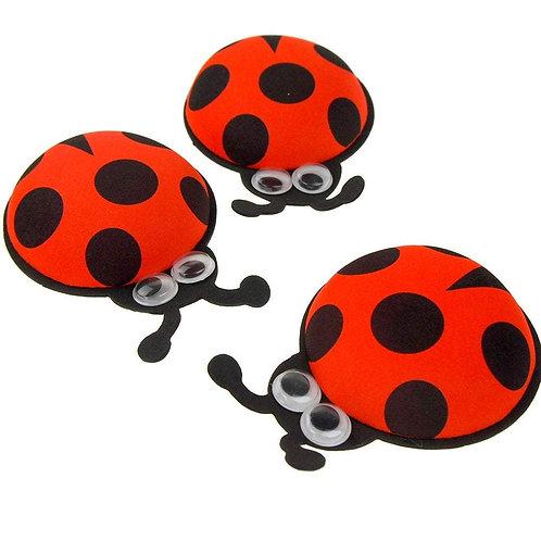 Ladybug Party Favors-Ladybug Cutouts with Googly Eyes