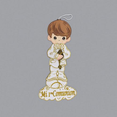 First Communion Banner Boy Glitter Foam Cutouts