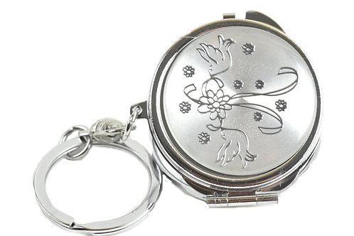 Mirror Keychain-Wedding Gifts-Nuestra Boda Favors-Dove Figure