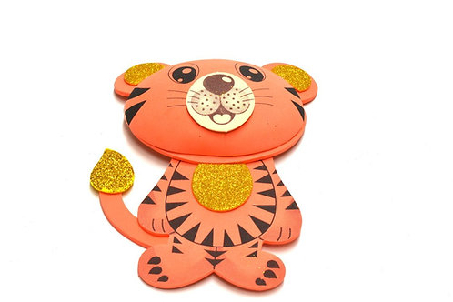 Baby shower Party Favors Tiger 3D Jungle Animals. S
