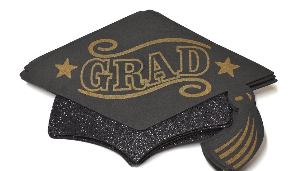 Gold Graduation Centerpieces Large Graduation Cap Decorations