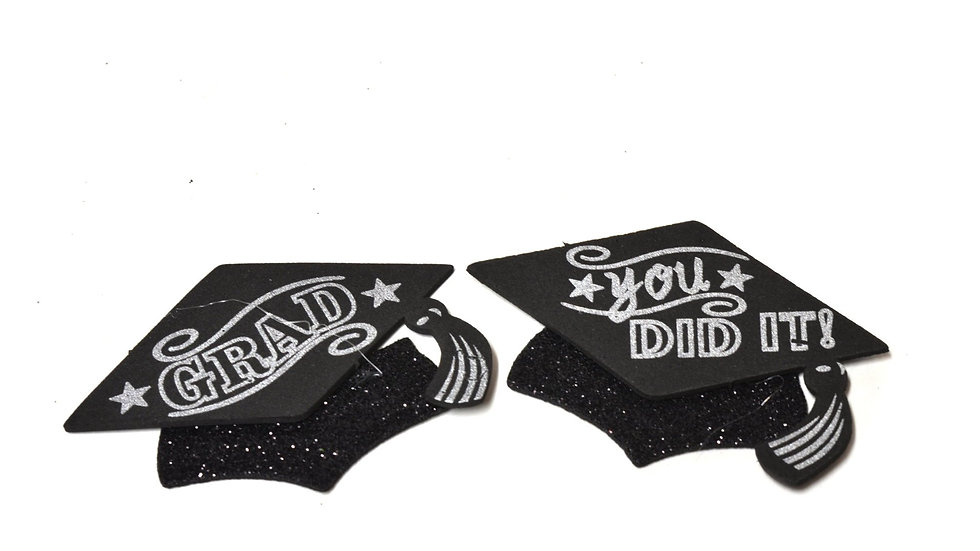 Party Graduation Hats Small Foam Graduation Cap Favors