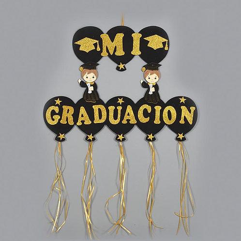 Graduation Banner-Foam Congrats Banner-Gold