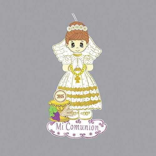 First Communion Banner-Chalice Foam Cutouts-Girl