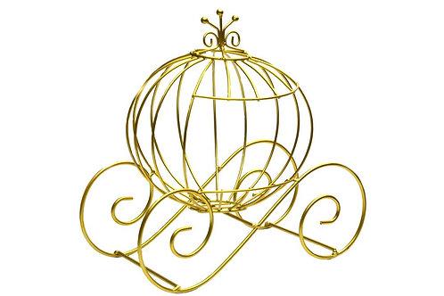 Cinderella Pumpkin Carriage Decoration-12 Inches