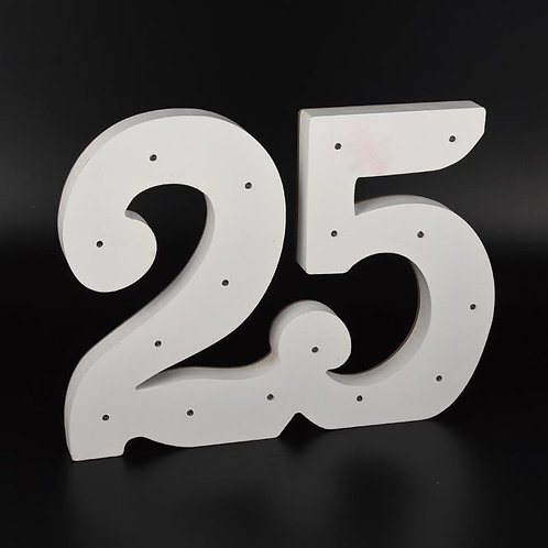 Light Up Numbers-25th Anniversary