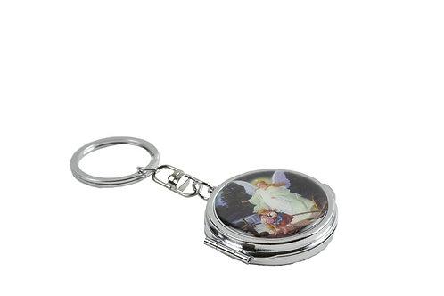 Mirror Keychain-Bautizo Favors-Guardian Angel Spirit