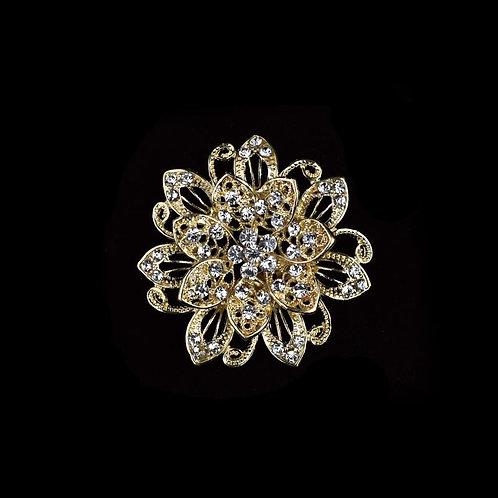 Rhinestone Brooches-Crystal Rhinestone Brooches For Crafts