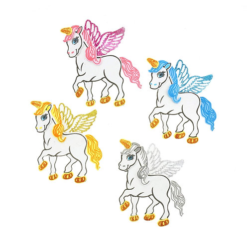 Party Banner-Unicorn Foam Cutouts