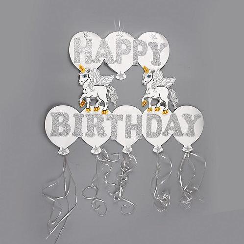 Birthday Banner Unicorn Birthday Decorations