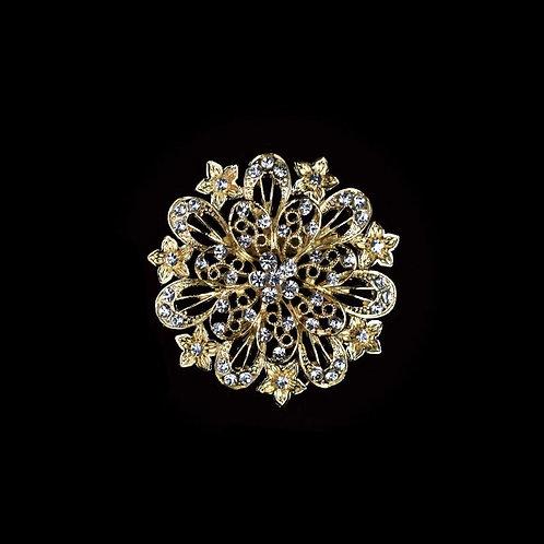 Rhinestone Brooches Crystal Rhinestone Brooch Pin