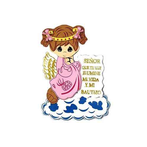Baptism Favors Angel Cutouts
