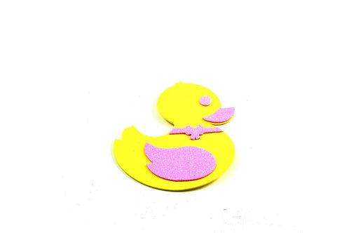 Pink Baby Shower Favors Ducky Duck Foam