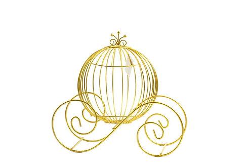 Cinderella Pumpkin Carriage Decoration-15 Inches
