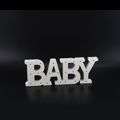 Baby Marquee Light Up Letters