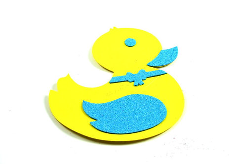 Blue Baby Shower Centerpieces Ducky Duck Foam