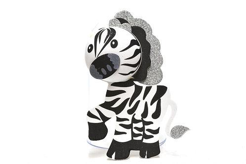 Baby Shower Centerpieces 3D Zebra Safari Theme Baby Shower
