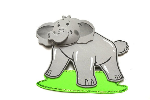 Baby Shower Centerpieces 3D Elephant Themed Baby Shower