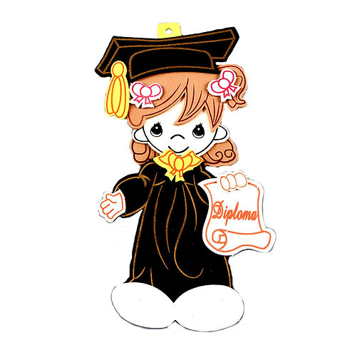 Girl Graduation Centerpieces Graduation Cap and Gown