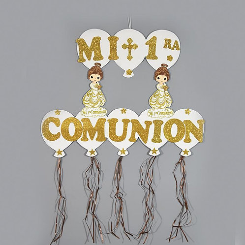 First Communion Banner-Christening Party Banner.