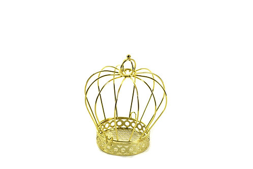 Party Favors-Wire Crown Cake Topper-Crown Ornament.