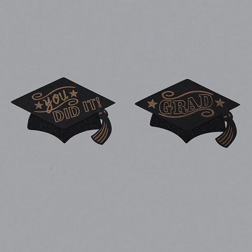 Graduation Centerpieces-Large Graduation Cap Foam Cutouts