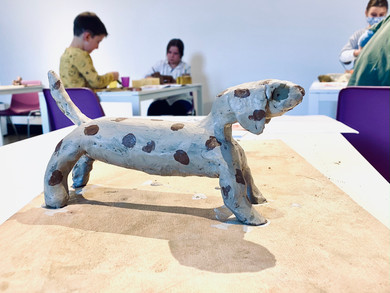 Un cane d'artista
