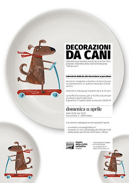 Corso ceramica CANE Croci Torti aprile 2