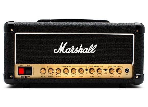 Amplificador Marshall DSL20H Cabeçote