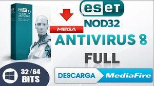 ESET NOD32 8 [Español + Activador] [64 Y 32 bits] PARA