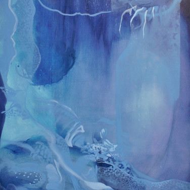 Untitled (Blue Snakeskin)