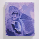 Untitled (Purple Face), SOLD
