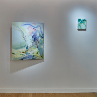 """Installation Shot from """"When You Sense the Forest Breathing"""""""