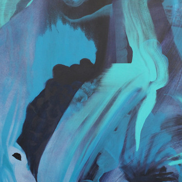 detail of Untitled (Blue)