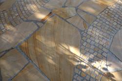 Terrasse Sandstein