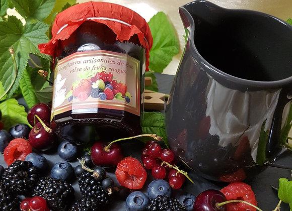 Savoureuse valse de fruits rouges