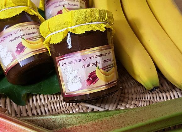 Savoureuse rhubarbe-banane