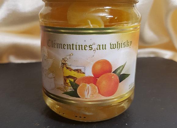 Clémentines au whisky