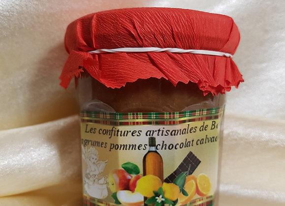 La Gourmande  agrumes-pomme-chocolat-Calvados