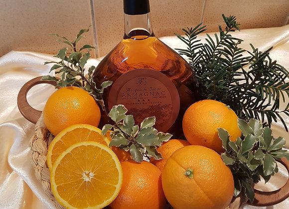 La Gourmande oranges amères -Armagnac