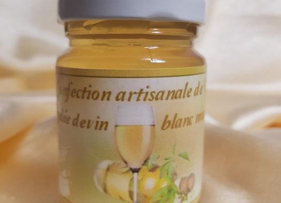 Gelée de vin blanc moelleux