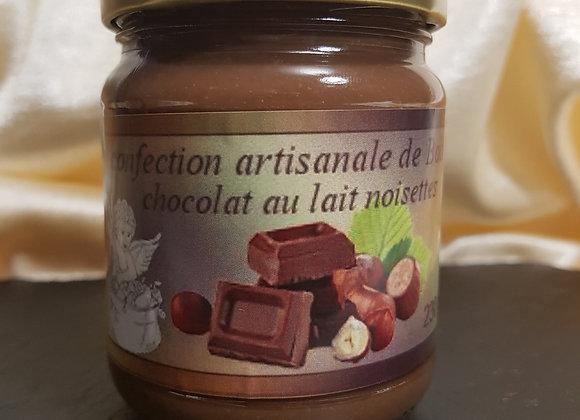 Chocolat au lait à la noisette 230g