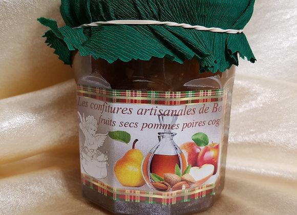 La Gourmande pomme-poire-fruits secs-Cognac